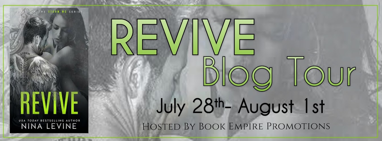 Blog Tour Review Revive Storm Mc 3 By Nina Levine Ninalwriter